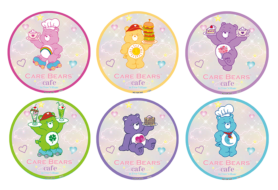 CARE BEARS™ Cafe コースター