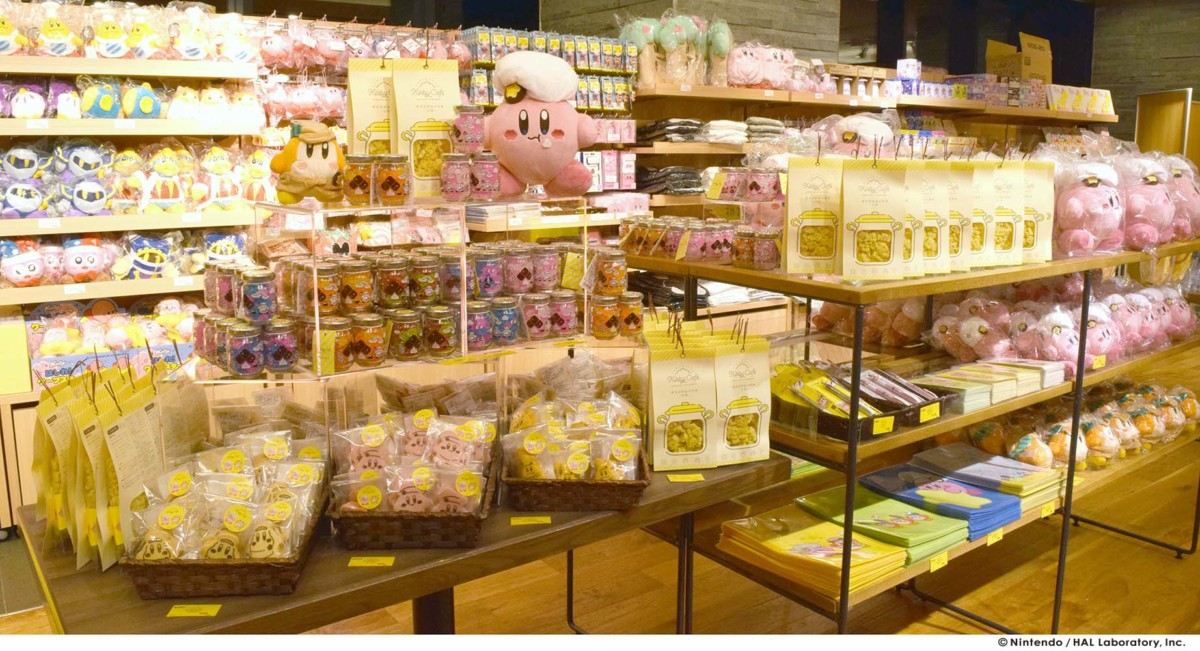 『KIRBY CAFÉ THE STORE(カービィカフェ ザ・ストア)』店舗
