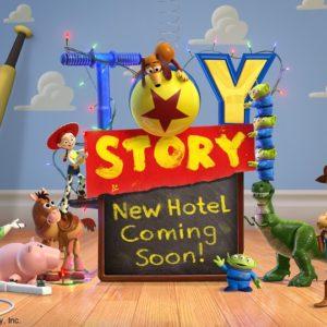 ディズニー/ピクサー映画『トイ・ストーリー』シリーズをテーマとする新たなディズニーホテル