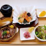 黒毛和牛ZEN 和牛ステーキご飯 &海老と帆立のあつあつグリル(小)