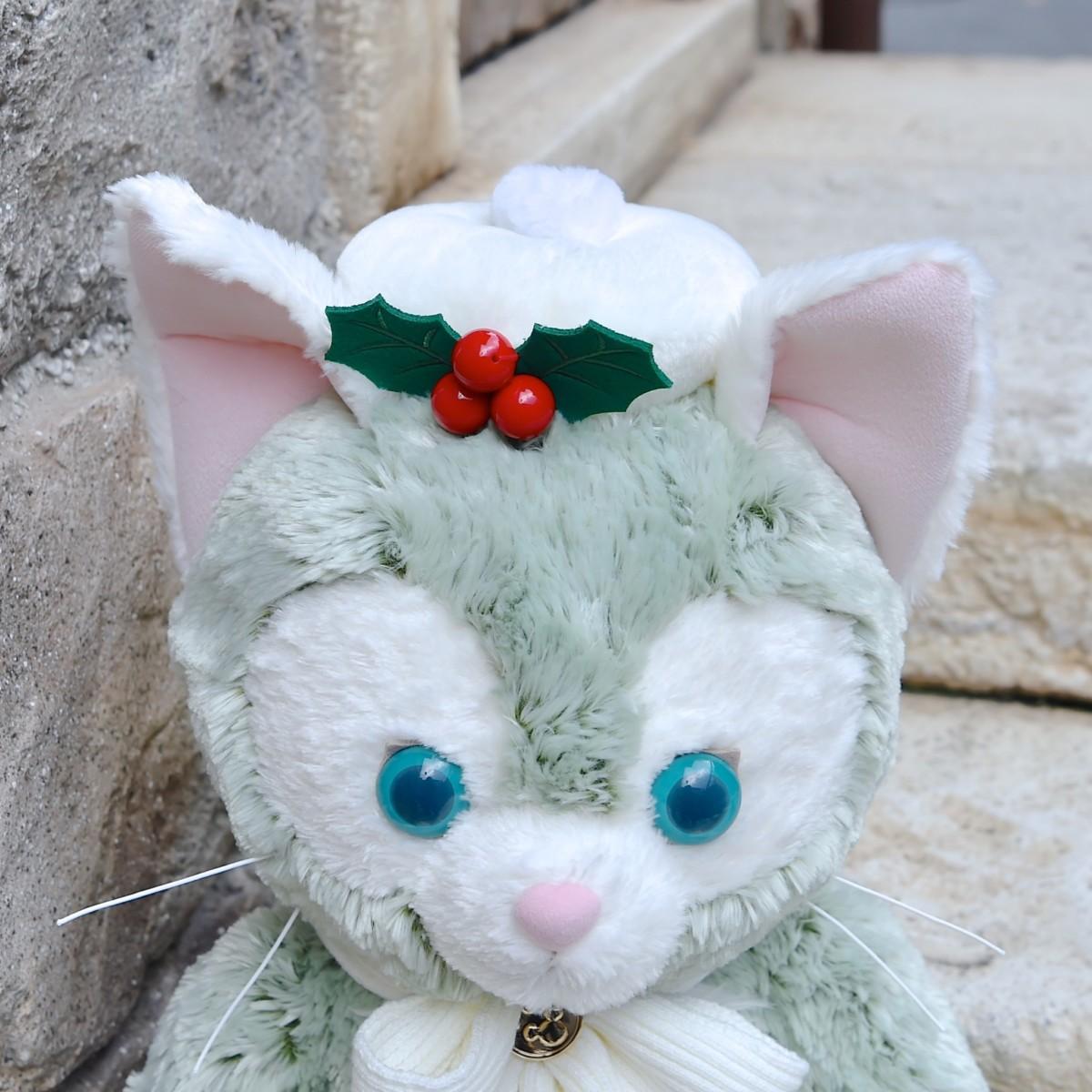 ディズニー・クリスマス Mサイズ ぬいぐるみ ジェラトーニ 帽子