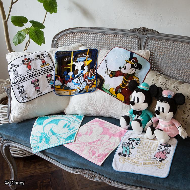 一番くじ 〈ミッキーマウス〉90 YEARS of ROMANCE コレクションタオル2