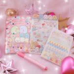 すみっコぐらしキラキラ手帳セット