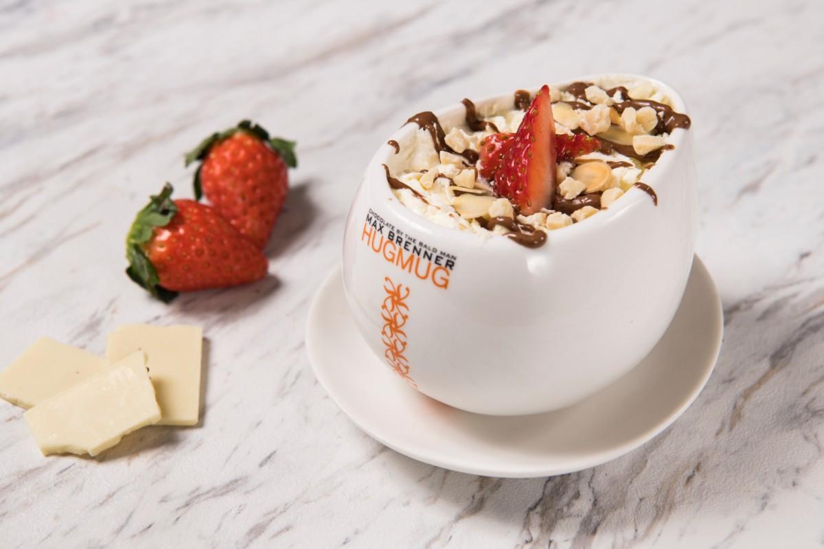 ホワイトチョコレートストロベリーティー