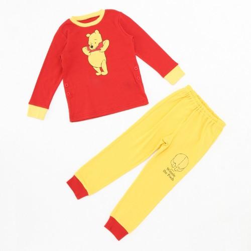 スムースパジャマ レッド