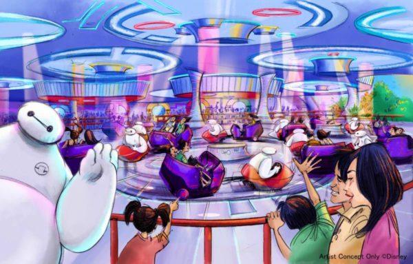 東京ディズニーランド「ベイマックスのハッピーライド」