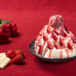 ICE MONSTER ホワイトチョコレートストロベリーかき氷
