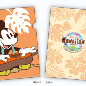 ディズニー・ハワイアン・コンサート2019 グッズ クリアファイル ミッキー