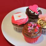「ローラズ・カップケーキ東京」バレンタインカップケーキ