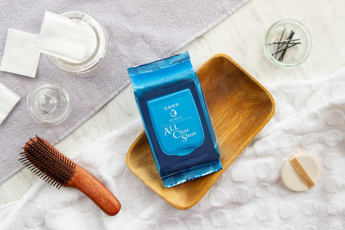 洗顔専科 すっぴん磨きクレンジングシート2
