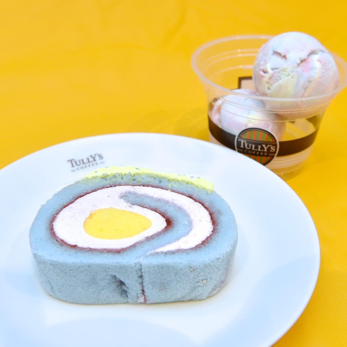「タリーズユニコーンロール バナナ&ストロベリー/T's ポップンマーブルソーダ」2