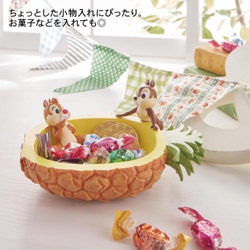 パイナップルモチーフ型の小物入れ 使用イメージ