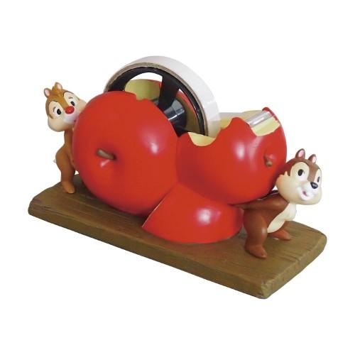 りんごモチーフのテープディスペンサー2