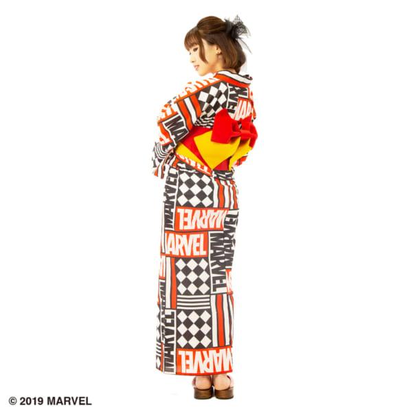 浴衣 MARVELロゴ5