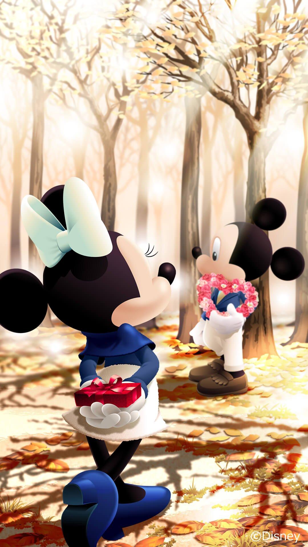 2月はミニーのアニメスタンプも登場 Lineファンアカウント Disney X Line Dtimes