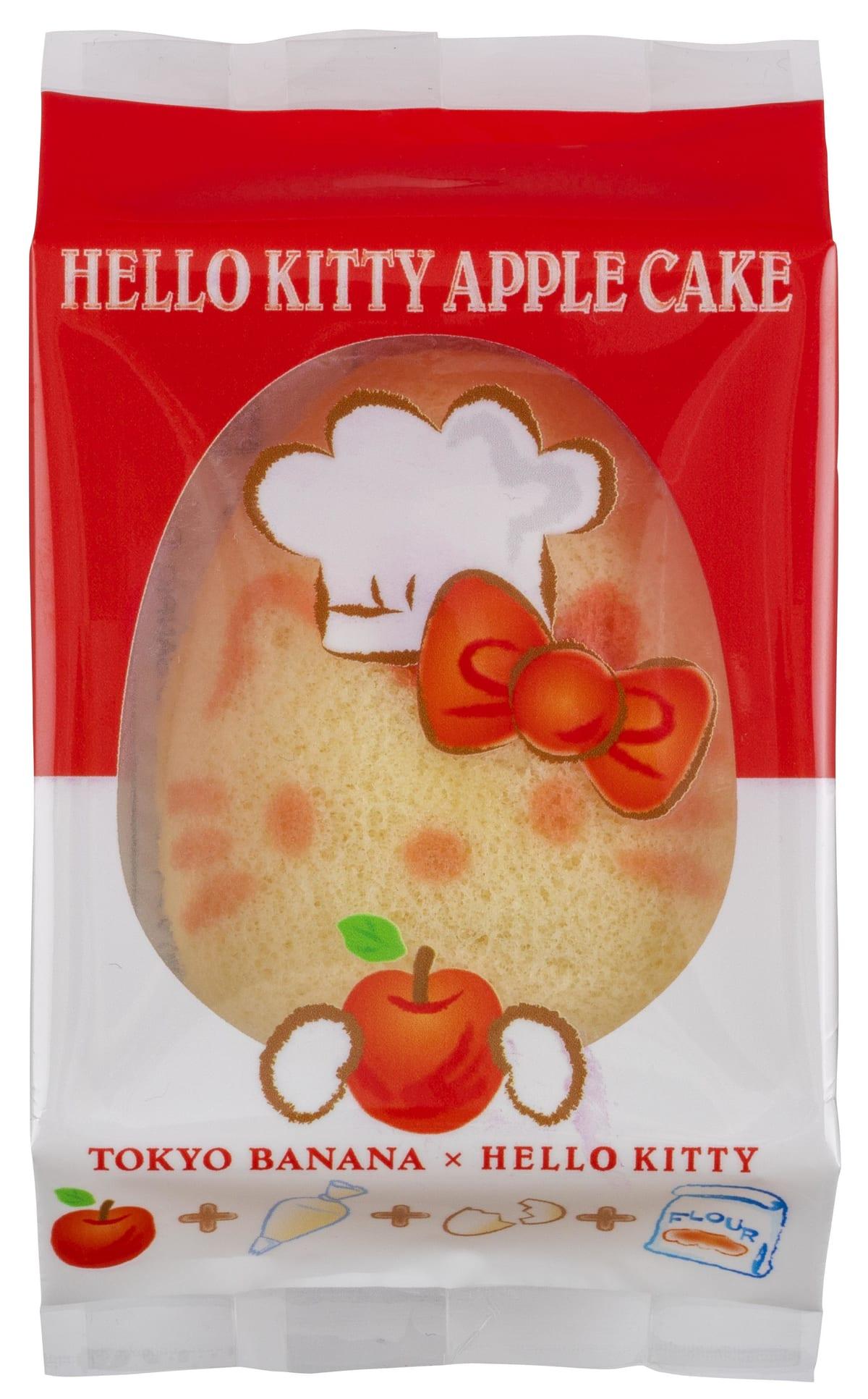 東京ばな奈ワールド「ハローキティ アップルケーキ」3