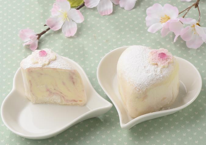 ラブリーアイスクリーム「はーとのもちあいす~桜餅~」
