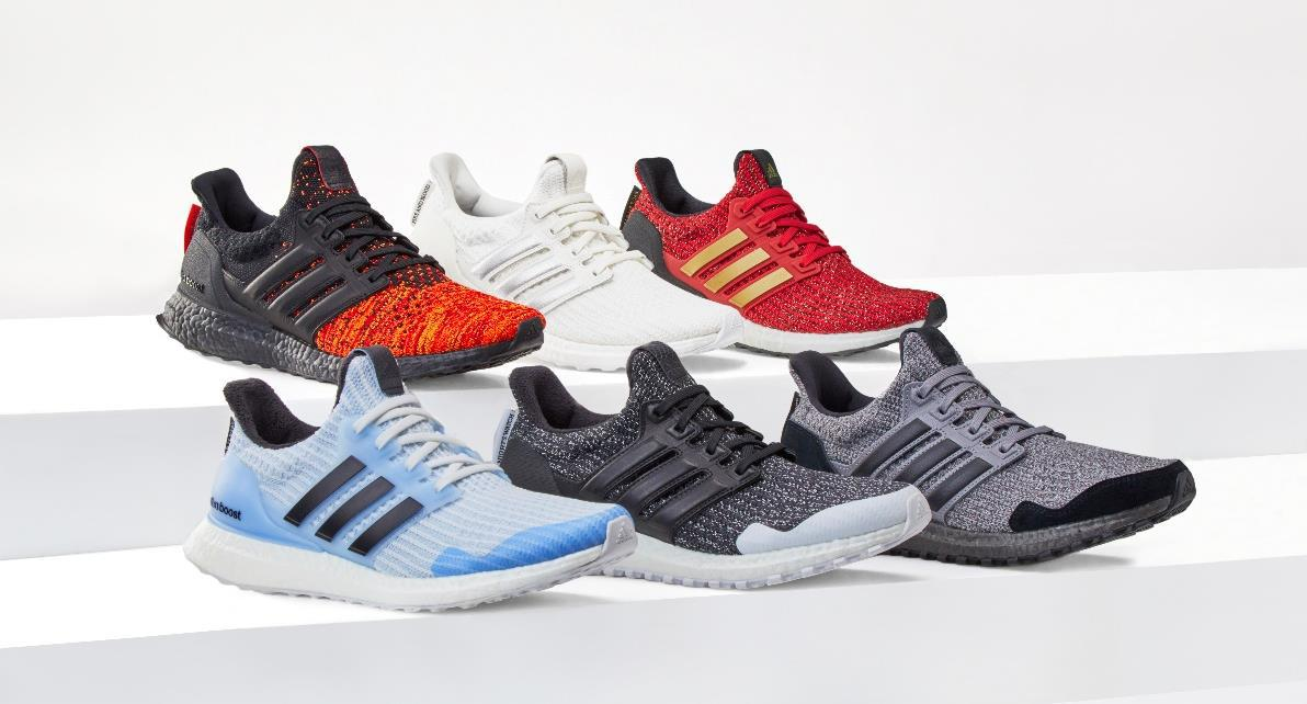 adidas x Game of Thrones Ultraboost 6種類
