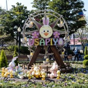 東京ディズニーシー うさピヨ・イースターパーク 観覧車