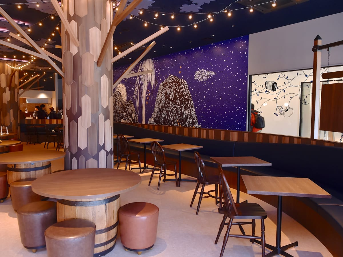 ムーミン谷の食堂「MuumilaaksoRuokala(ムーミラークソルオカラ)」写真