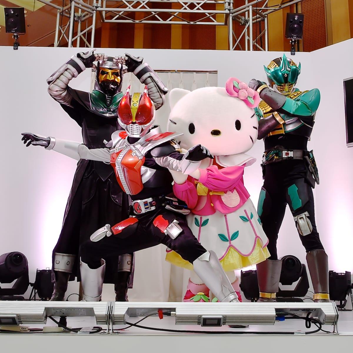 仮面ライダー電王×ハローキティ3