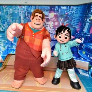 香港ディズニーランド・リゾート『シュガー・ラッシュ:オンライン』グリーティング