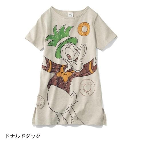 フルーツ柄チュニックTシャツ ドナルド