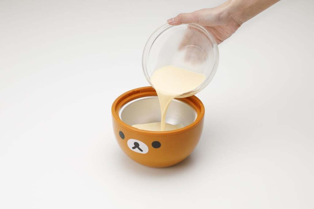 貝印 アイスクリームメーカー  リラックマ 材料入れ