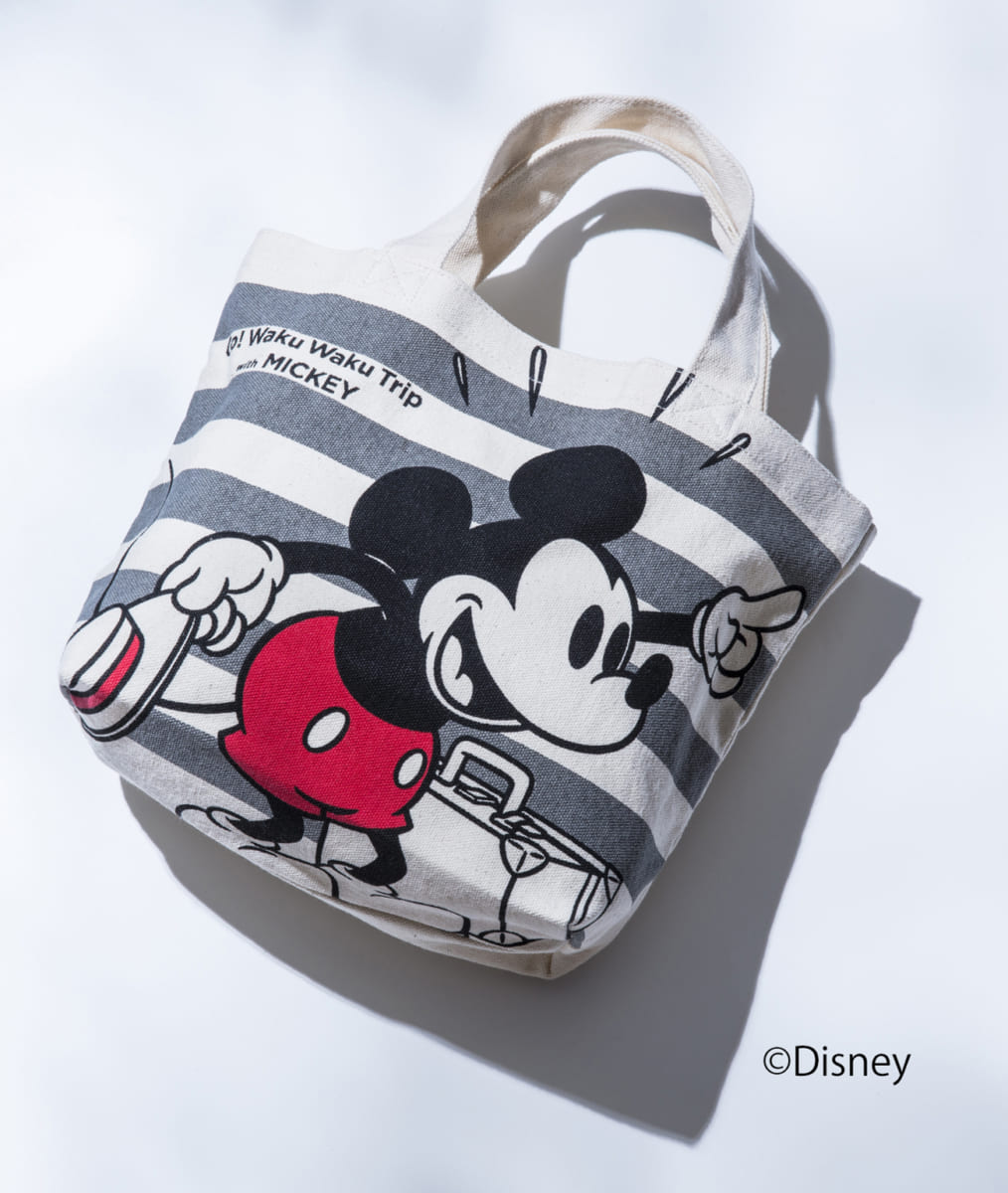 「Go! Waku Waku Trip with MICKEY」プロジェクト ランチバッグ