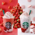スターバックスコーヒー「#STRAWBERRYVERYMUCHFRAPPUCCINO®」