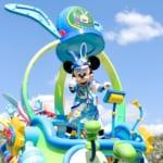 """東京ディズニーランド""""ディズニー・イースター2019""""メインパレード『うさたま大脱走!』ミッキー"""