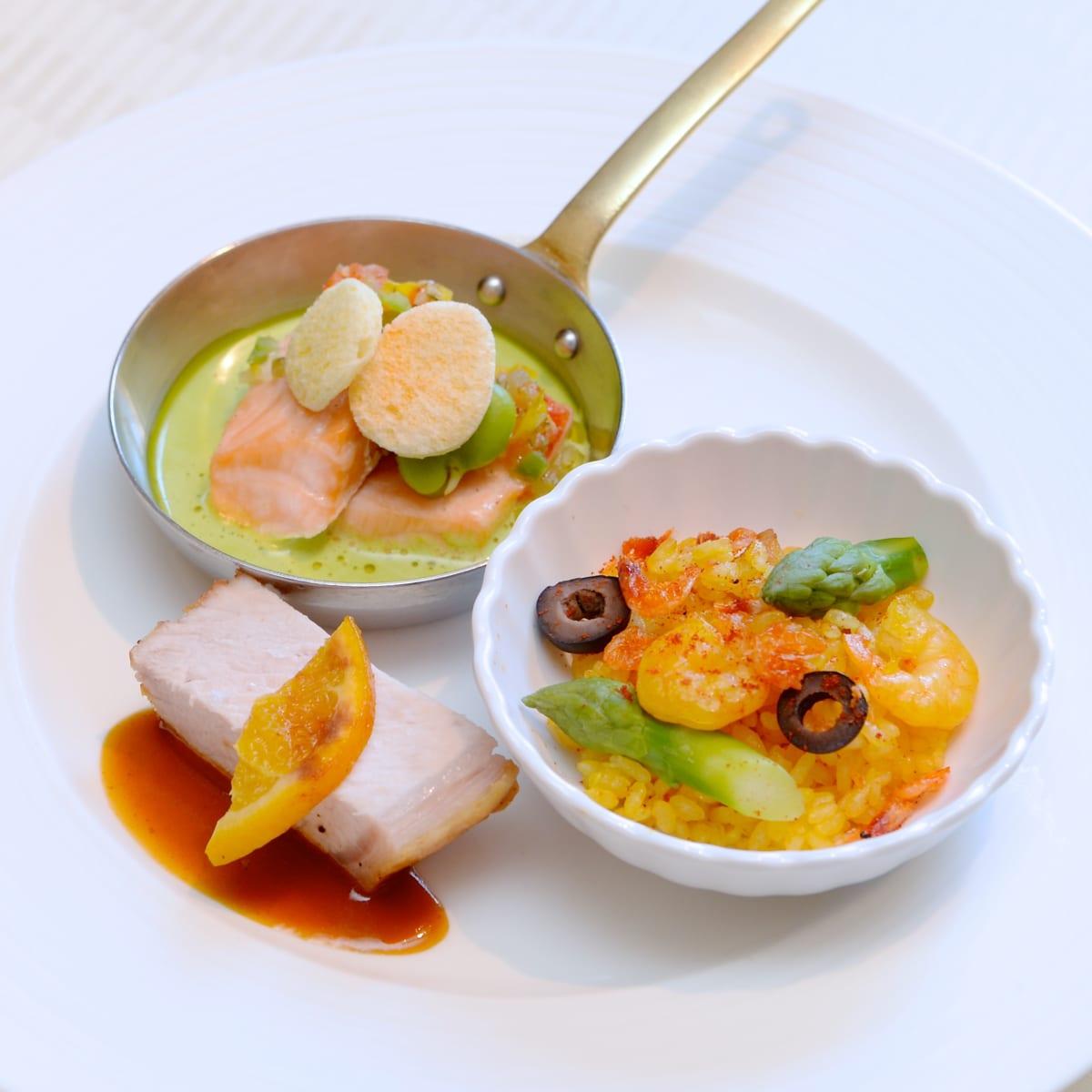 東京ディズニーシー・ホテルミラコスタ オチェーアノ ディズニー・イースター2019 ブッフェ あたたかい料理
