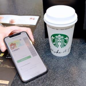 LINE スターバックス コーヒー ジャパン業務提携スタート