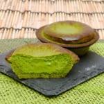 焼きたて抹茶チーズタルト「深緑」写真