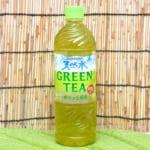サントリー「天然水 GREEN TEA」 写真