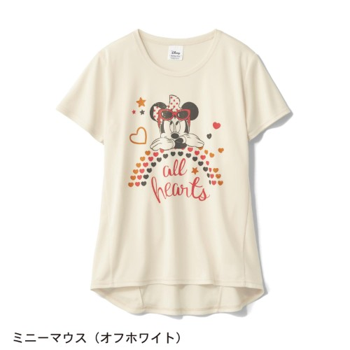 UVケアメッシュチュニックTシャツ ミニー