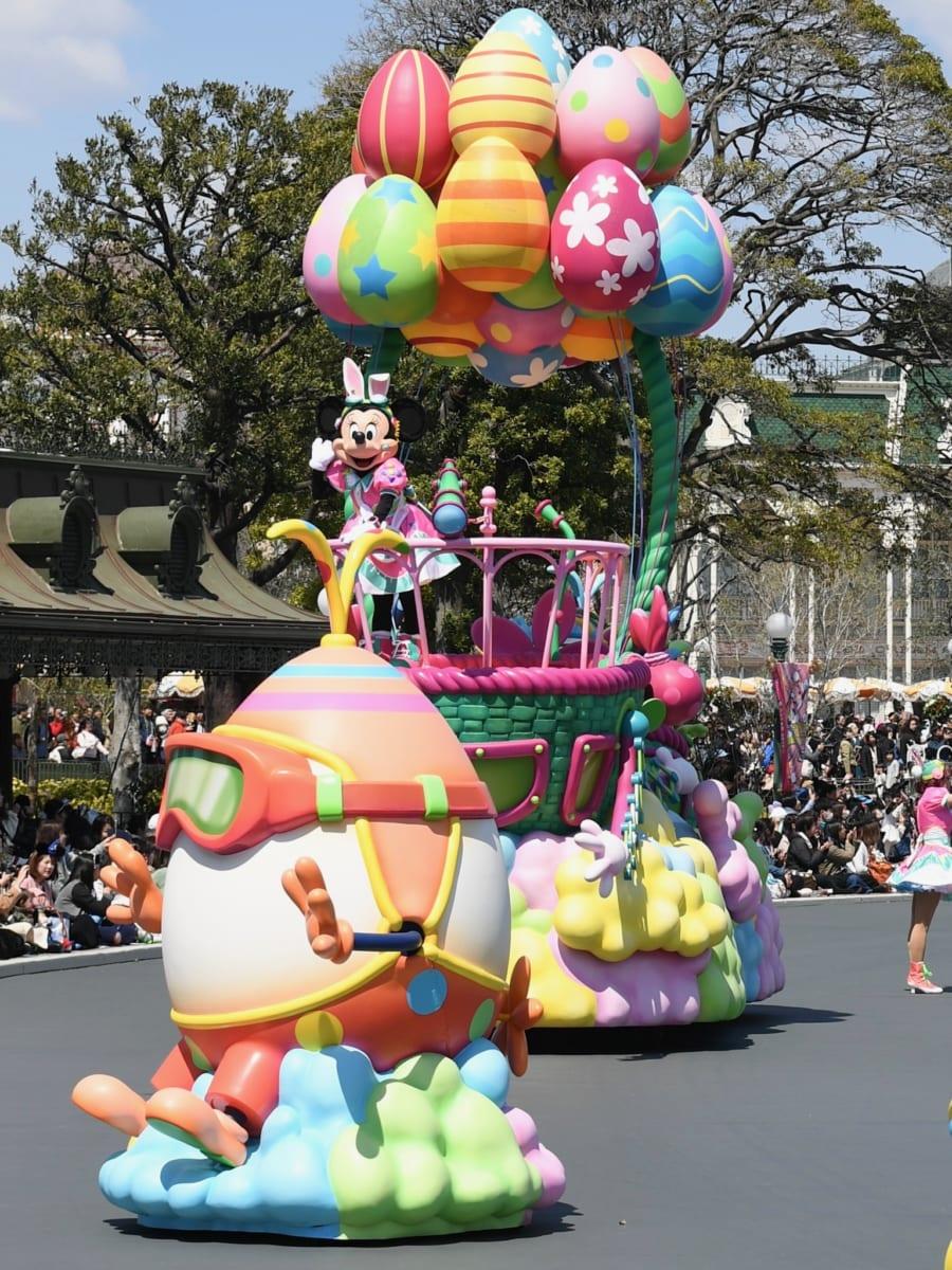 うさたまを探して気球に乗る「ミニーマウス」3