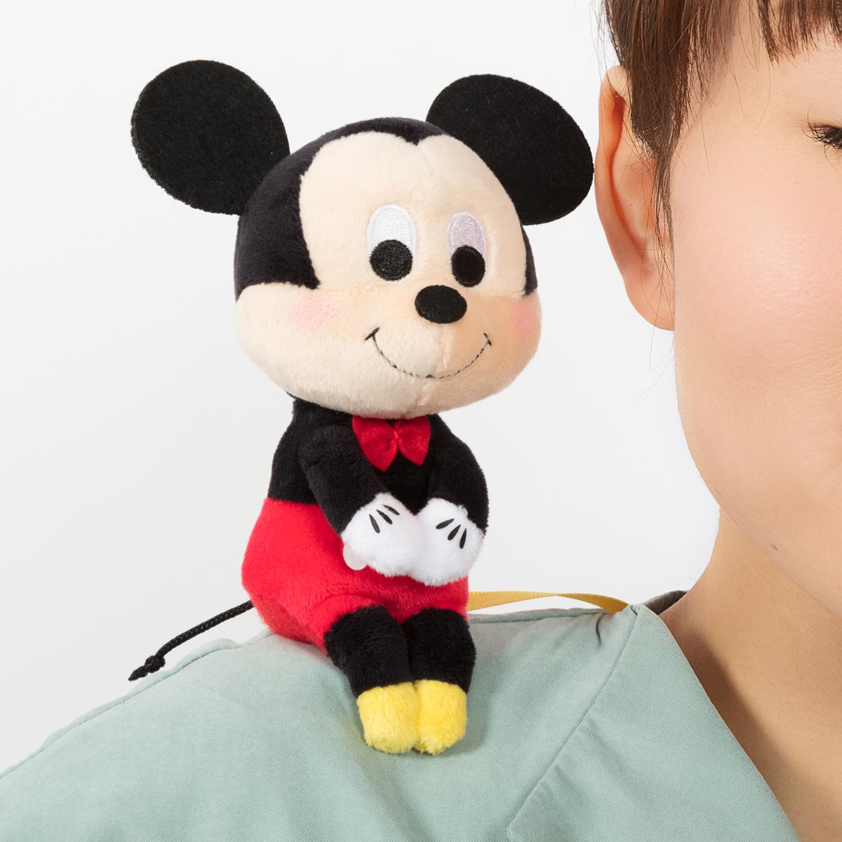 ディズニーキャラクター 肩のりちょっこりさん ミッキー 使用イメージ3