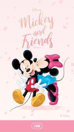 Disney x LINE 3、4、5月 着せ替え