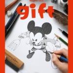 ディズニー公式イラスト集 gift