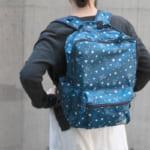 リラックマ 星柄 折りたたみバッグ