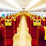 『JR九州 Waku Waku Trip 新幹線』デザイン 車内