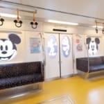 ディズニーリゾートライン「ミッキーマウス ラッピング」モノレール