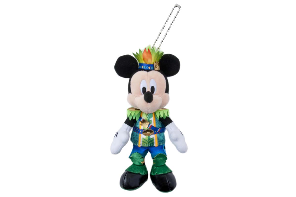 ぬいぐるみバッジ ミッキーマウス