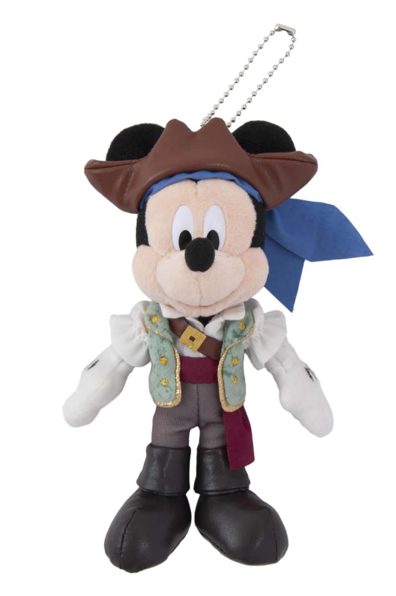 ミッキーマウス ぬいぐるみバッジ