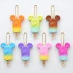 ミッキーマウス ファンカラ Tropical Ice Candyキーチェーンフィギュア
