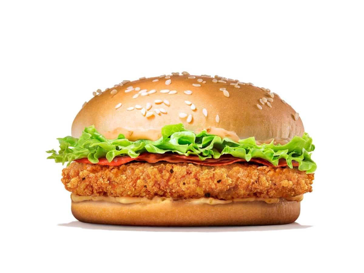 バーガーキング クリスピーチキンバーガー_商品画像