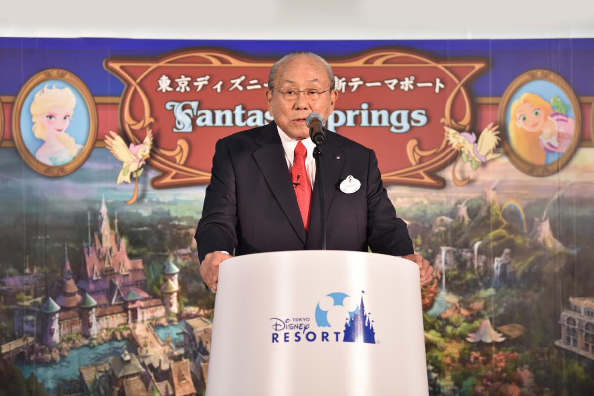 株式会社オリエンタルランド 代表取締役会長(兼)CEO 加賀見俊夫氏