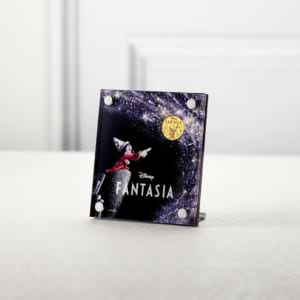 ミッキーマウス90周年デザイン 特別限定純金メダル『ファンタジア』