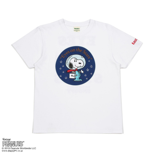 EYES ON THE STARS Tシャツ/SNOOPY×Laundry